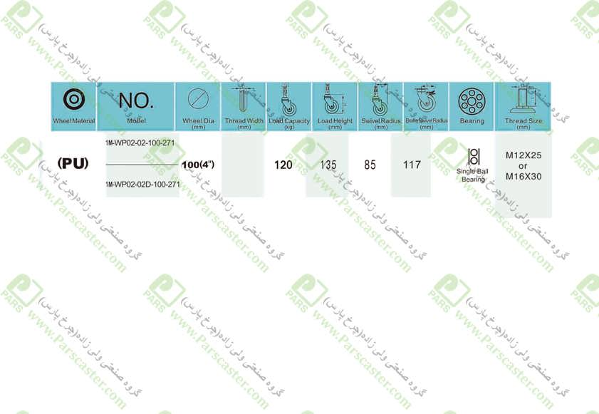 1M WP02 02 100 271 J - 1M-WP02-271-پیمی-(S234)