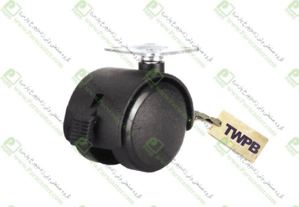 TWPB 600x415 - چرخ دوقلو کفی ترمزدار