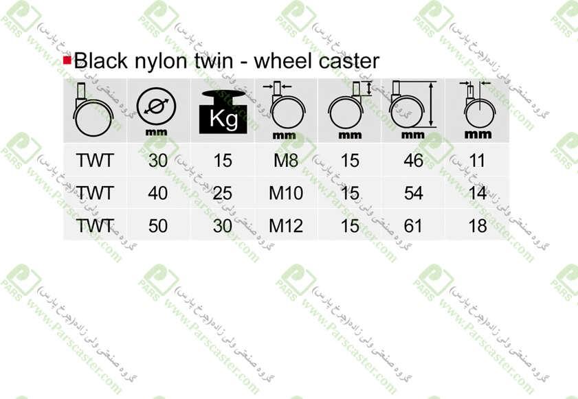 TWT J - چرخ دوقلو پیچی