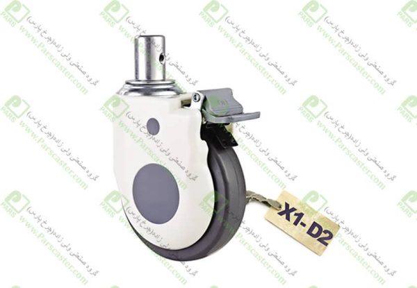 X1 D2 600x415 - چرخ های بیمارستانی قابدار پیمی